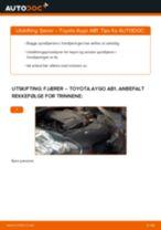 Bytte Fjærer bak og foran TOYOTA AYGO (WNB1_, KGB1_): handleiding pdf