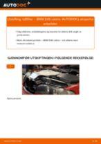 Slik bytter du luftfilter på en BMW E46 cabrio – veiledning