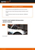 Kuinka vaihtaa koiranluu eteen BMW E46 touring-autoon – vaihto-ohje