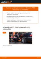 Jak wymienić sprężyny zawieszenia tył w Mercedes W210 - poradnik naprawy