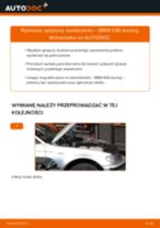 Zalecenia mechanika samochodowego dotyczącego tego, jak wymienić BMW BMW E90 320i 2.0 Amortyzator