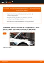 Samodzielna wymiana Amortyzatory tylne i przednie BMW - online instrukcje pdf
