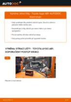 Doporučení od automechaniků k výměně TOYOTA Toyota Aygo ab1 1.4 HDi List stěrače