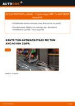 DENSO IKBH20TT για AYGO (WNB1_, KGB1_)   PDF οδηγίες αντικατάστασης