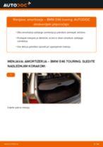 Vodič PDF po korakih za menjavo BMW 3 Touring (E46) Blazilnik