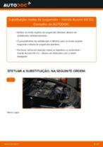 Como substituir Filtro de pólen Integra I Hatchback DA - manual online