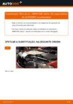 Tutorial passo a passo em PDF sobre a substituição de Filtro de Ar no BMW 3 Convertible (E46)