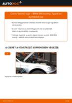Elülső futómű rugó-csere BMW E46 touring gépkocsin – Útmutató