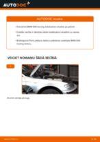 Kā nomainīt: priekšas stabilizatora atsaites BMW E46 touring - nomaiņas ceļvedis
