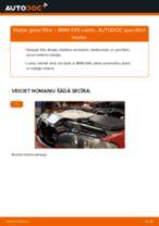 Kā nomainīt: gaisa filtru BMW E46 cabrio - nomaiņas ceļvedis
