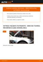 Žingsnis po žingsnio pakeiskite BMW 3 Touring (E46) Amortizatorius PDF vadovas