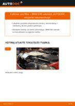 Pakeisti Oro filtras BMW 3 SERIES: instrukcija