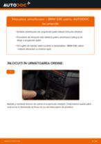 Montare Kit amortizoare BMW 3 Convertible (E46) - tutoriale pas cu pas