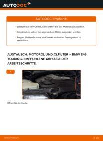 Wie der Wechsel durchführt wird: Ölfilter 320d 2.0 BMW E46 Touring tauschen