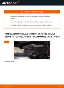 Comment effectuer un remplacement de Filtre à Huile sur 320d 2.0 BMW 3 Touring (E46)