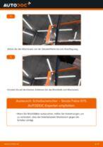 SKODA ROOMSTER Hauptscheinwerfer Glühlampe wechseln Anleitung pdf