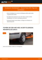 Tutorial zur Reparatur und Wartung für PEUGEOT PARTNER Platform/Chassis