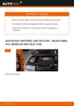 Wie Skoda Fabia 6Y5 Motoröl und Ölfilter wechseln - Anleitung
