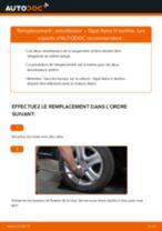 arrière + avant Amortisseurs OPEL Astra H Berline (A04) | PDF tutoriel de remplacement