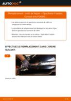 Comment changer et régler Vérin de coffre OPEL ASTRA : tutoriel pdf