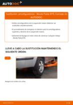 Cambio Cable de accionamiento freno de estacionamiento JEEP bricolaje - manual pdf en línea