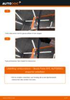 Skifte Opphengskule SKODA FABIA: gratis pdf