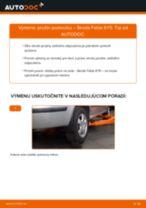 Ako vymeniť zadné pružina podvozku na Skoda Fabia 6Y5 – návod na výmenu
