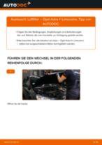 Wie Opel Astra H Limousine Luftfilter wechseln - Schritt für Schritt Anleitung