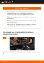 Wie Opel Astra H Limousine Bremsscheiben hinten wechseln - Anleitung