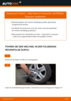 Wie Opel Astra H Limousine Federn hinten wechseln - Anleitung