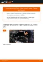 Hoe luchtfilter vervangen bij een Opel Astra H sedan – vervangingshandleiding