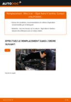 Remplacement de Cylindre de frein principal sur OPEL MERIVA : trucs et astuces
