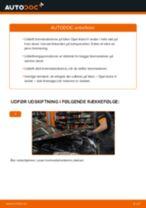Udskift bremseskiver bag - Opel Astra H sedan | Brugeranvisning