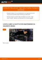Instalación Filtro de aire motor OPEL ASTRA H Saloon (L69) - tutorial paso a paso