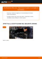 Come cambiare filtro aria su Opel Astra H sedan - Guida alla sostituzione