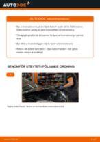 Byta bromsskivor bak på Opel Astra H sedan – utbytesguide