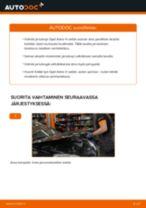 Kuinka vaihtaa jarrulevyt taakse Opel Astra H sedan-autoon – vaihto-ohje