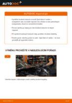 Jak vyměnit zadní brzdové kotouče na Opel Astra H sedan – návod k výměně