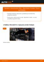 PDF návod na výměnu: Vzduchovy filtr OPEL Astra H Sedan (A04)