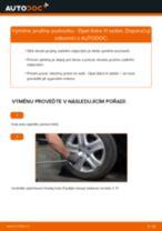 Jak vyměnit zadní pružiny podvozku na Opel Astra H sedan – návod k výměně