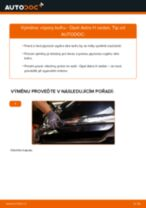 Doporučení od automechaniků k výměně OPEL Opel Astra g f48 1.6 (F08, F48) Zarovka svetlometu