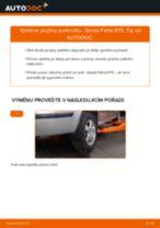 Jak vyměnit zadní pružiny podvozku na Skoda Fabia 6Y5 – návod k výměně