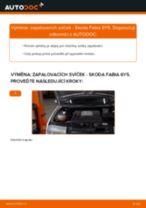 PDF návod na výměnu: Zapalovaci svicka SKODA Fabia I Combi (6Y5)