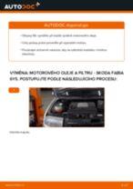 PDF návod na výměnu: Olejovy filtr SKODA Fabia I Combi (6Y5)
