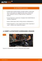 Hátsó féktárcsák-csere Opel Astra H sedan gépkocsin – Útmutató