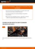 Austauschen von Scheibenbremsbeläge OPEL ASTRA: PDF kostenlos