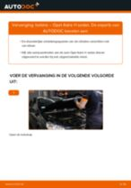 Opel Astra G Sedan reparatie en onderhoud gedetailleerde instructies
