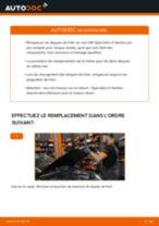 Comment changer : disques de frein avant sur Opel Astra H berline - Guide de remplacement