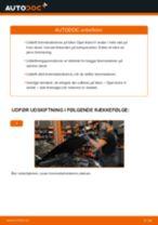 Udskift bremseskiver for - Opel Astra H sedan | Brugeranvisning
