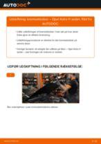 Instruktionsbog OPEL ASTRA